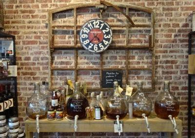 Whisky, Rum und Grappa
