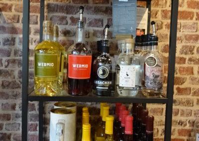 Wein, Sekt, Wermuth und Gin