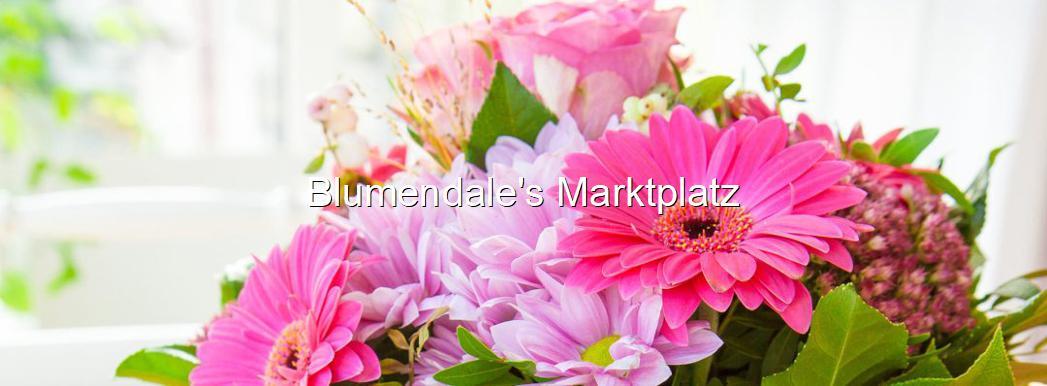 Blumendale's Marktplatz