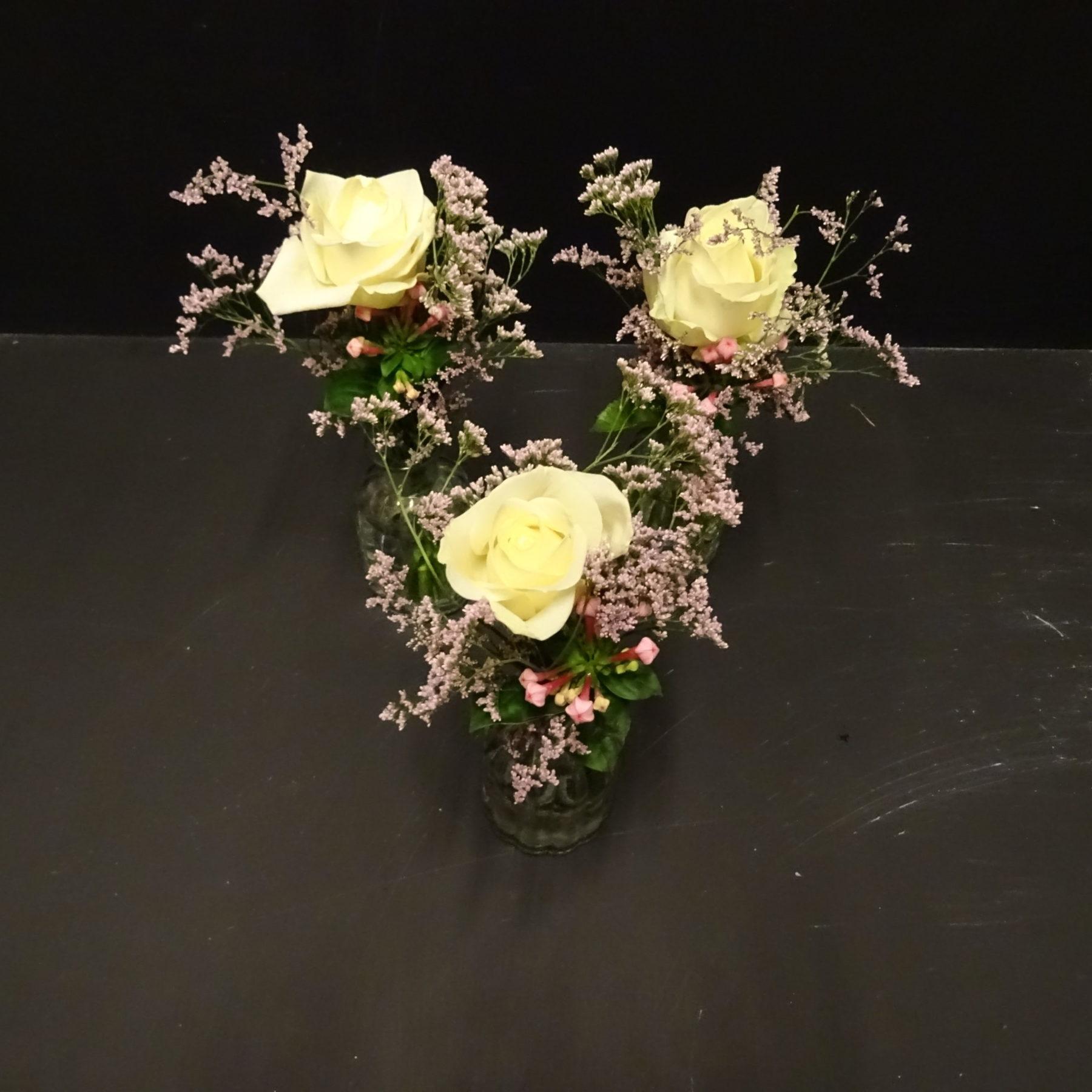 Tischdeko Vase