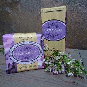 Plum Violet Soap & Creme