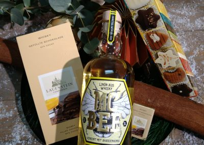 MC BEE Whisky Likör mit Akazienhonig