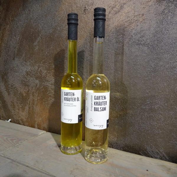 Gartenkräuter Öl & Essig